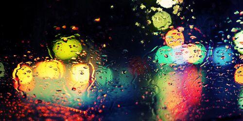 Rainy Bokeh - Jörg DICKMANN - Photograph