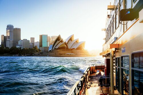 SYDNEY FERRY SUNSET - Jörg DICKMANN - Photographie