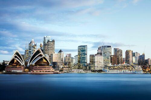 Sydney Skyline II - Jörg DICKMANN - Kunstfoto