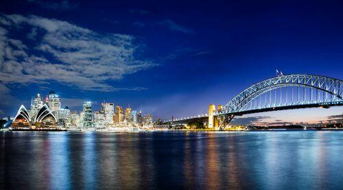 Sydney Skyline III - Jörg DICKMANN - Kunstfoto