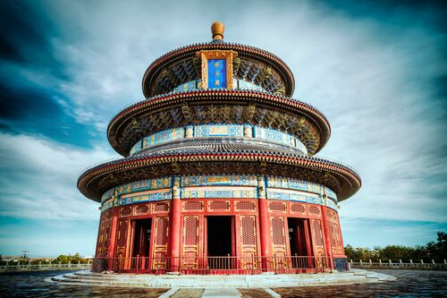 TEMPLE OF HEAVEN I - Jörg DICKMANN - Photograph