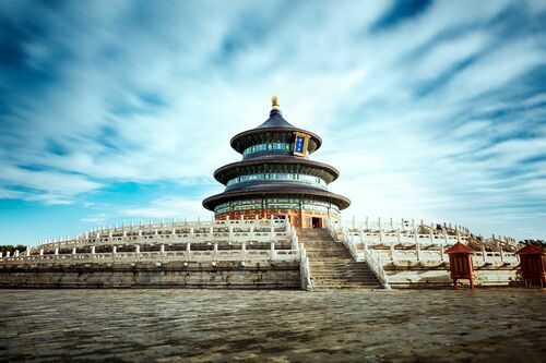 TEMPLE OF HEAVEN II - Jörg DICKMANN - Photograph