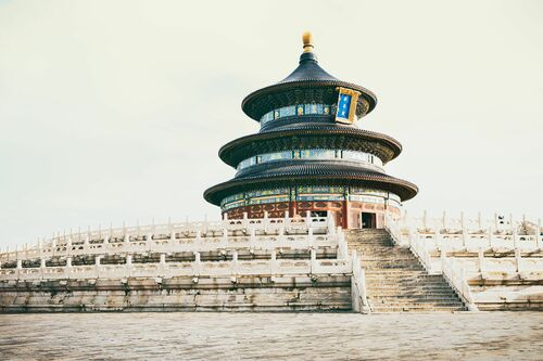 TEMPLE OF HEAVEN IV - Jörg DICKMANN - Photograph