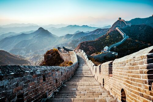 THE GREAT WALL I - Jörg DICKMANN - Photograph