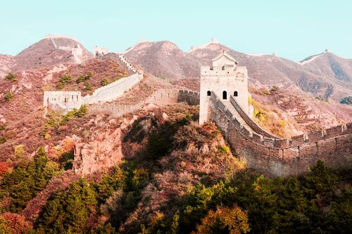 THE GREAT WALL II - Jörg DICKMANN - Photograph