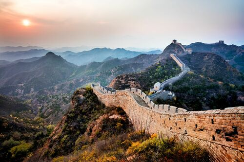 THE GREAT WALL III - Jörg DICKMANN - Photograph