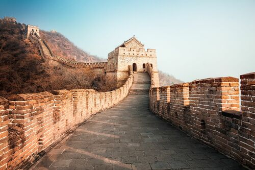 THE GREAT WALL IV - Jörg DICKMANN - Photograph