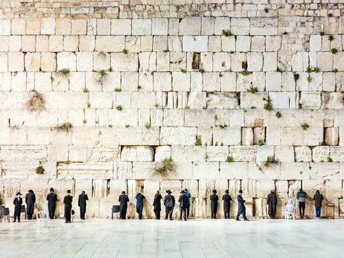 THE WESTERN WALL I - Jörg DICKMANN - Photograph