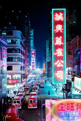 Tung Choi Street I - Jörg DICKMANN - Kunstfoto