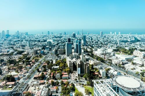 WHITE CITY TEL AVIV - Jörg DICKMANN - Photograph
