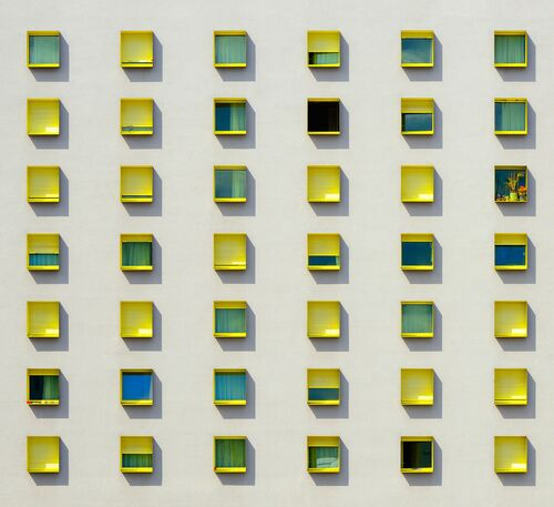 HAPPY WINDOWS - JOSE-ANTOINE COSTA - Kunstfoto