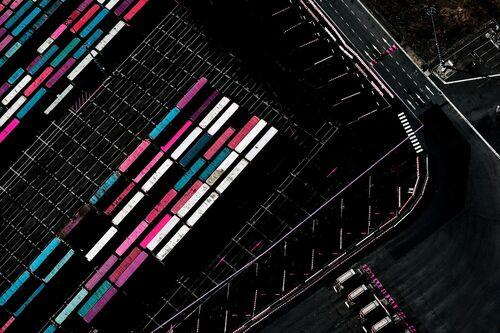Aerial Pink - KATE BALLIS - Photograph