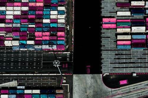 Pink Cargo - KATE BALLIS - Photograph