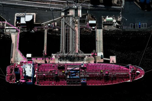 Pink Ship - KATE BALLIS - Photograph