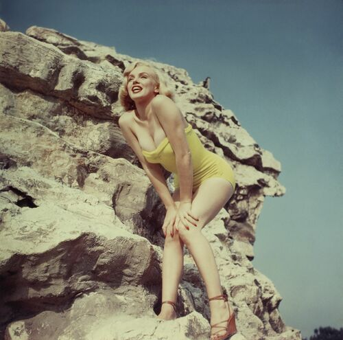 Marilyn Monroe 1960 -  KEYSTONE AGENCY - Photograph