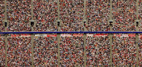Soccer fans - KLAUS LEIDORF - Photographie