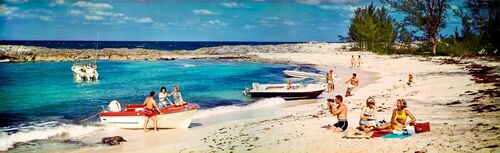 NASSAU BAHAMAS 1966 - KODAK COLORAMA DISPLAY COLLECTION - HANK MAYER - Photograph