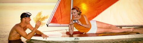 SAILBOAT 1968 - KODAK COLORAMA DISPLAY COLLECTION - NORMAN C KERR - Photograph