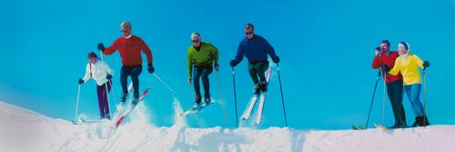 SKI ACTION VAIL CO 1971 - KODAK COLORAMA DISPLAY COLLECTION - NORMAN C KERR - Photographie