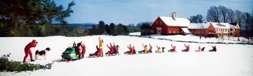 SNOWMOBILE AND SLEDS 1969