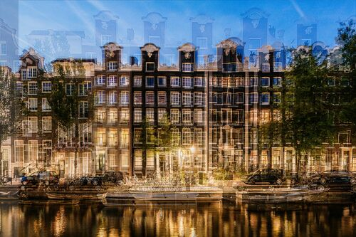 AMSTERDAM - HALSGEVEL - LAURENT DEQUICK - Photograph