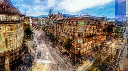 Bahnhofstrasse - LAURENT DEQUICK - Photographie