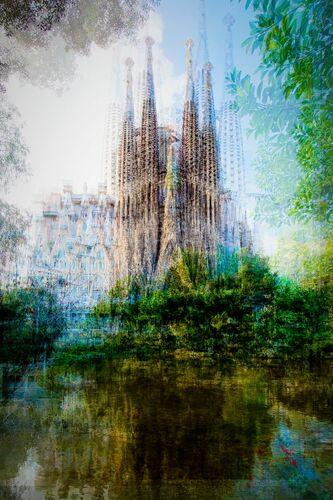 Barcelona Placa de Gaudi - LAURENT DEQUICK - Fotografie