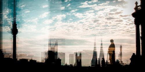 Berlin de ma fenêtre - LAURENT DEQUICK - Fotografie