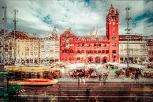 Bl Märtplatz II - LAURENT DEQUICK - Photograph