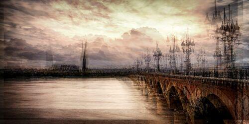 BORDEAUX  CREPUSCULE - LAURENT DEQUICK - Fotografie