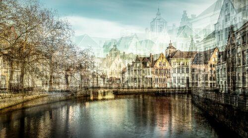 BRUGES CANAL - LAURENT DEQUICK - Photographie
