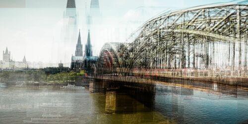 Köln Hohenzollernbrücke - LAURENT DEQUICK - Fotografia