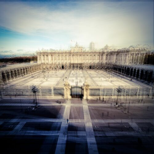 Madrid Palacio Real C - LAURENT DEQUICK - Photograph
