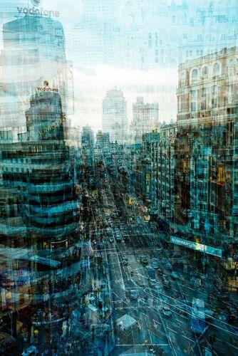 Madrid Trafico - LAURENT DEQUICK - Photograph