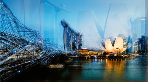 Marina Bay Sand II - LAURENT DEQUICK - Photograph