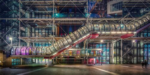PARIS BEAUBOURG 40 ANS APRES - LAURENT DEQUICK - Photographie