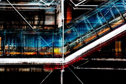 Paris Beaubourg - LAURENT DEQUICK - Photographie