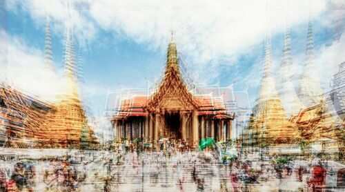 Phra Wiharn Yod - LAURENT DEQUICK - Fotografia