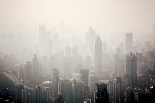SHANGHAI  FOG - LAURENT DEQUICK - Fotografía