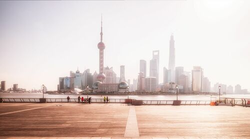 SHANGHAI  PUDONG'S MORNING
