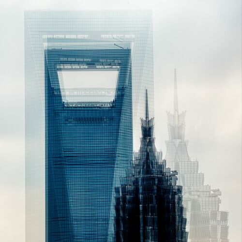SHANGHAI  THE TWO TOWERS - LAURENT DEQUICK - Fotografia
