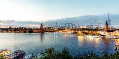 STOCKHOLM - BLUE HOUR - LAURENT DEQUICK - Fotografie