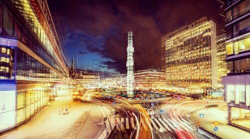 STOCKHOLM - SERGELS TORG - LAURENT DEQUICK - Photographie