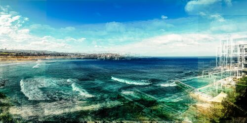 Sydney Bondi Beach I - LAURENT DEQUICK - Photograph