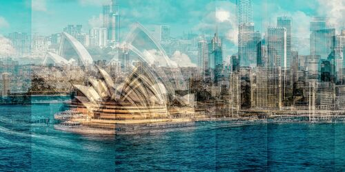 Sydney Cityscape - LAURENT DEQUICK - Photograph