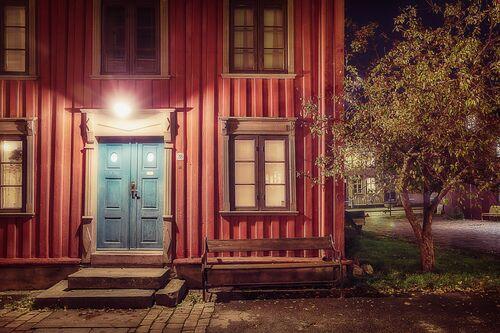 TRONDHEIM - DET RODE HUSET - LAURENT DEQUICK - Photograph