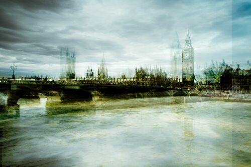 Westminster Bridge - LAURENT DEQUICK - Photograph