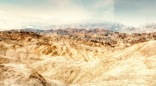 ZABRISKIE POINT - CRUMBLING LAND - LAURENT DEQUICK - Fotografie