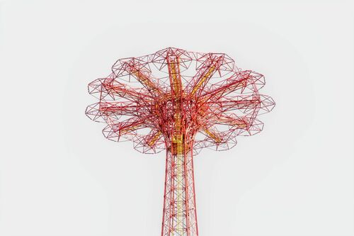 CONEY ISLAND JUMP STATION -  LDKPHOTO - Photograph