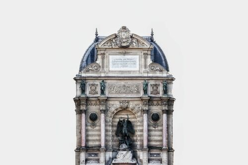 FONTAINE SAINT MICHEL -  LDKPHOTO - Photograph